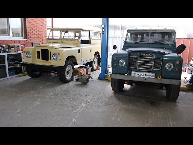 Спецпроект Land Rover Series III 1982 года НАЧАЛО # 27 сборка и установка передних сидений